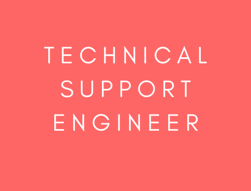 Technical Support Engineer (CZ)